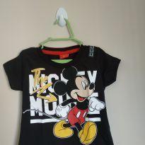 Camiseta manga curta Mickey - 1 ano - Disney