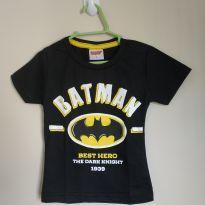 Camiseta manga curta Batman tam 1, nova, nunca usada! - 1 ano - Justice League