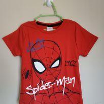 Camiseta manga curta Homem Aranha tam 2, nova nunca usada - 2 anos - MARVEL
