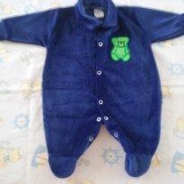 Macacão azul P - Recém Nascido - New Baby