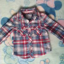 Camisa xadrez 1-2 anos - 1 ano - Poim, Cherokee e Up Baby