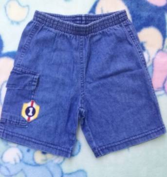 Bermuda jeans 1 ano - 1 ano - Nini e Bambini