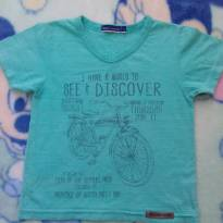 Camiseta Bike 1 ano - 1 ano - DILA