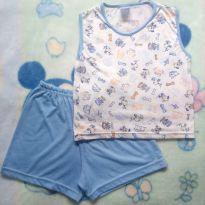 Pijama verão tam 04 - 4 anos - Não informada