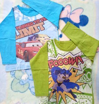 Dupla de camisetas pra brincar 4 anos - 4 anos - Não informada