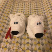 Pantufa de ursinho - 21 - Sem marca