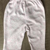 Calça Baby Way - Estampada - 0 a 3 meses - Baby Way