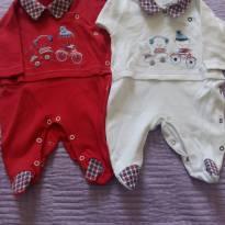 Kit 2 macacões - Recém Nascido - Baby fashion