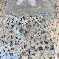Pijama unicórnio - 3 a 6 meses - Não informada