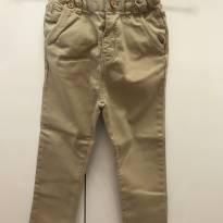 ZARA calça de cor bege - 3 anos - Zara Baby
