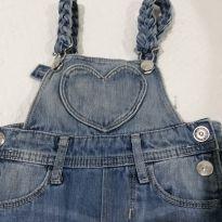 Macacão Jeans - 2 anos - Denim