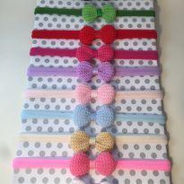 Kit com 10 laços de crochê - Sem faixa etaria - Outros