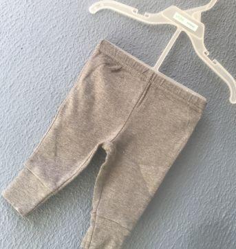 Calça Carters Cinza - 0 a 3 meses - Carter`s