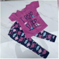 Pijama Carter`s Dinossauro - 2 anos - Carter`s