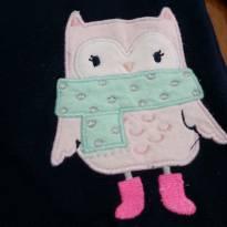 Blusa de frio plush Carters Corujinha - 2 anos - Carter`s