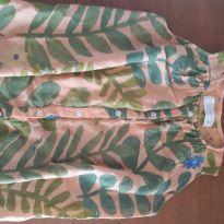 Vestido bata em linho Fabula - 2 anos - Fábula