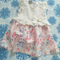 Vestido lindas borboletas - 6 meses - Brandili e várias