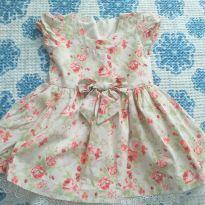 Vestido Jardim florido - 2 anos - Ser Garota