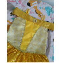 Fantasia Princesa Bela Original - 10 anos - Disney