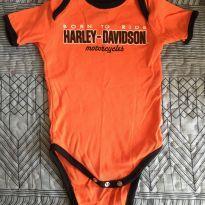 2 Bodies Harley Davidson - 9 a 12 meses - Harley Davidson