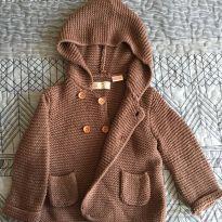 Casaquinho de Lã - 6 a 9 meses - Zara Baby