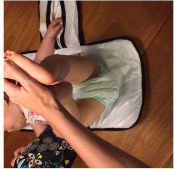 Trocador de bebê portátil - Sem faixa etaria - Não informada