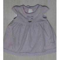 Vestido Body  Lilás - 3 a 6 meses - Marisol