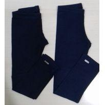 Kit blusas e leggings - 8 anos - Não informada