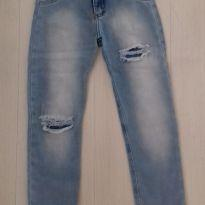 Calça jeans rasgada - 8 anos - Momi