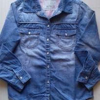 Camisa jeans - 8 anos - Renner