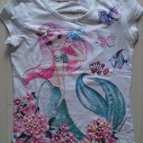 Blusa sereia - 10 anos - Pituchinhus