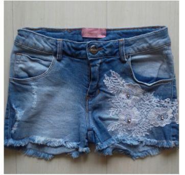Shorts jeans - 10 anos - Pituchinhus