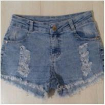 Shorts jeans desfiado - 10 anos - Have Fun