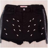 Shorts saia bordado - 12 anos - Pituchinhus