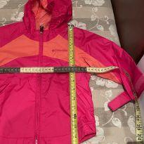 Jaqueta de chuva Columbia rosa e laranja - 2 anos - Columbia
