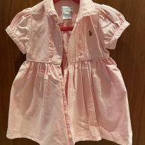 Vestido ralph lauren jeans rosa - 1 ano - Ralph Lauren