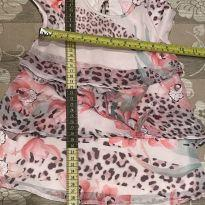 Vestido babado pituchinhus - 6 a 9 meses - Pituchinhus