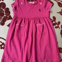 Vestido rosa ralph lauren - 18 meses - Ralph Lauren