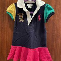 Vestido colorido ralph lauren - 1 ano - Ralph Lauren