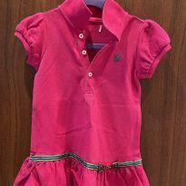 Vestido rosa pink ralph lauren - 9 meses - Ralph Lauren