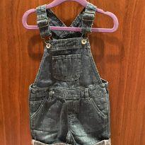 Jardineira jeans gap - 12 a 18 meses - Baby Gap