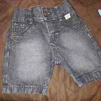 Bermuda jeans - 6 a 9 meses - Articolare