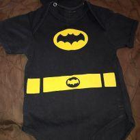Body BATMAN - 6 a 9 meses - Não informada