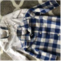 Camisas listradas - 3 a 6 meses - Carter`s