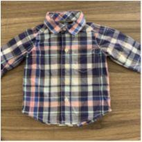 Camisa Xadrez Carters - 6 meses - Carter`s