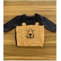 Suéter Urso Gap - 3 a 6 meses - Baby Gap