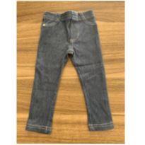 Calça molinha jeans - 9 a 12 meses - Baby Classic