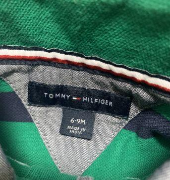 Polo Tommy - 6 a 9 meses - Tommy Hilfiger