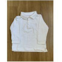 Camisa polo manga longa - 12 a 18 meses - Zara