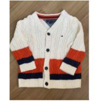 Casaquinho tricot Tommy - 18 meses - Tommy Hilfiger